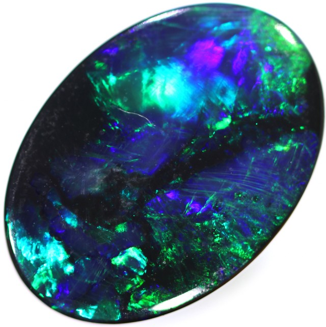 3.15 CTS BLACK OPAL -LIGHTNING RIDGE- [SO9619] SAFE