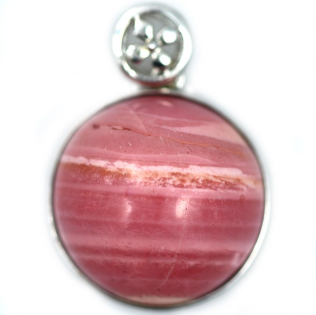 38.85 CTS PINK OPAL SILVER PENDANT -FACTORY DIRECT [SOJ5929]