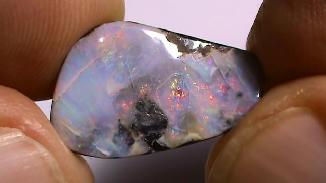 5.75 ct Multi Color Natural Queensland Boulder Opal