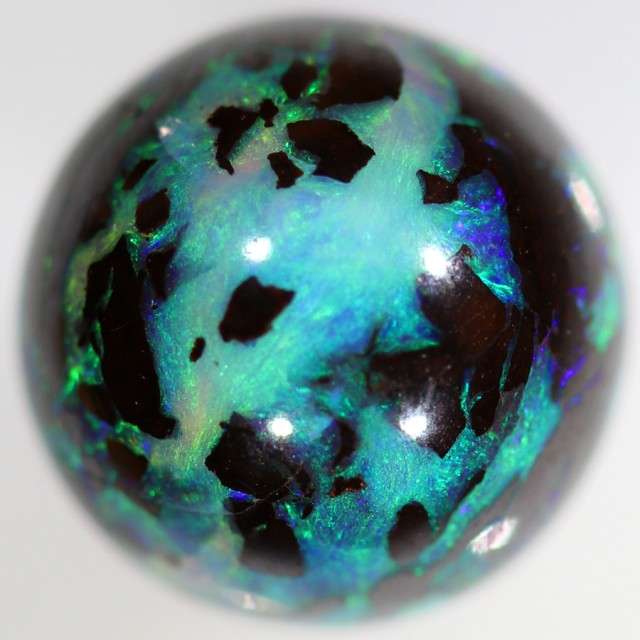 4.45 CTS BOULDER BEAD -HALF DRILLED [SO9637]