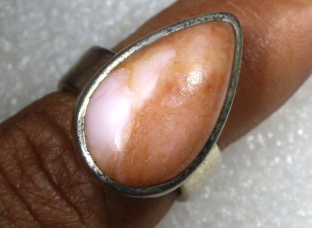 49 CTS  OPAL SILVER RING  TBO-7725