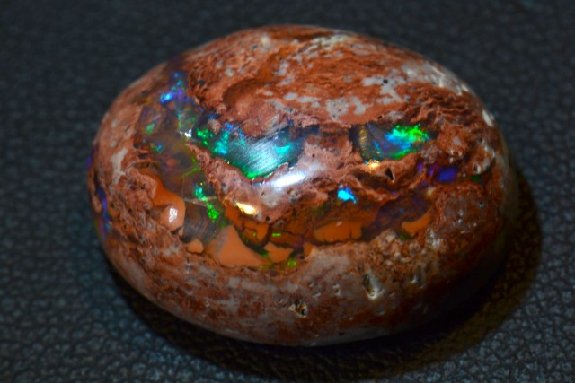 16ct Natural Mexican Matrix Cantera  Multicoloured Fire Opal