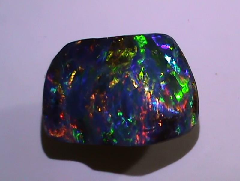 8.30 ct Gem Bright Rainbow Queensland Boulder Opal