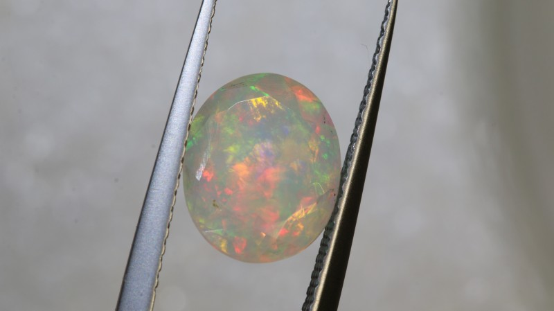 2 CTS ETHIOPIAN WELO FACETED OPAL STONE FOB-1239