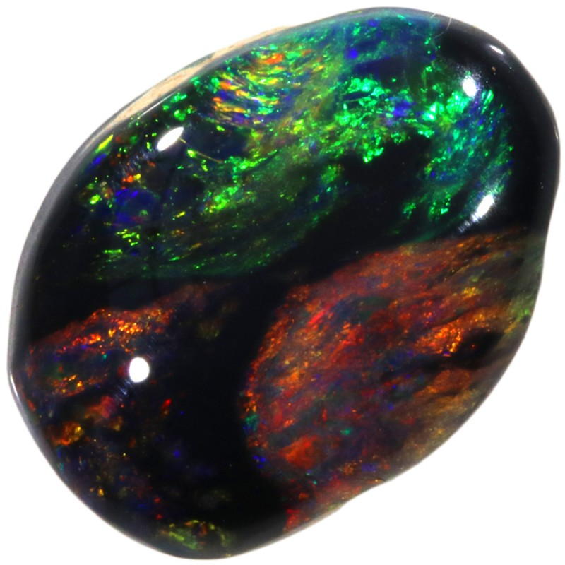 2.95 CTS BLACK OPAL -LIGHTNING RIDGE- [LRO108]SAFE