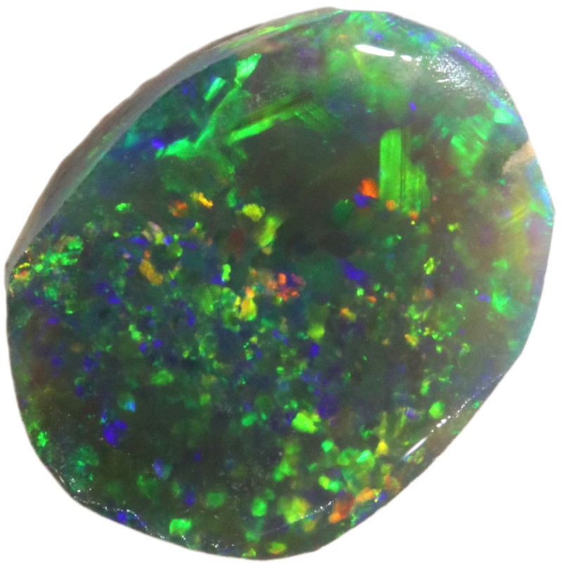 3.60 CTS BLACK  OPAL ROUGH  -RUBBED/FACED [BR5798]SAFE