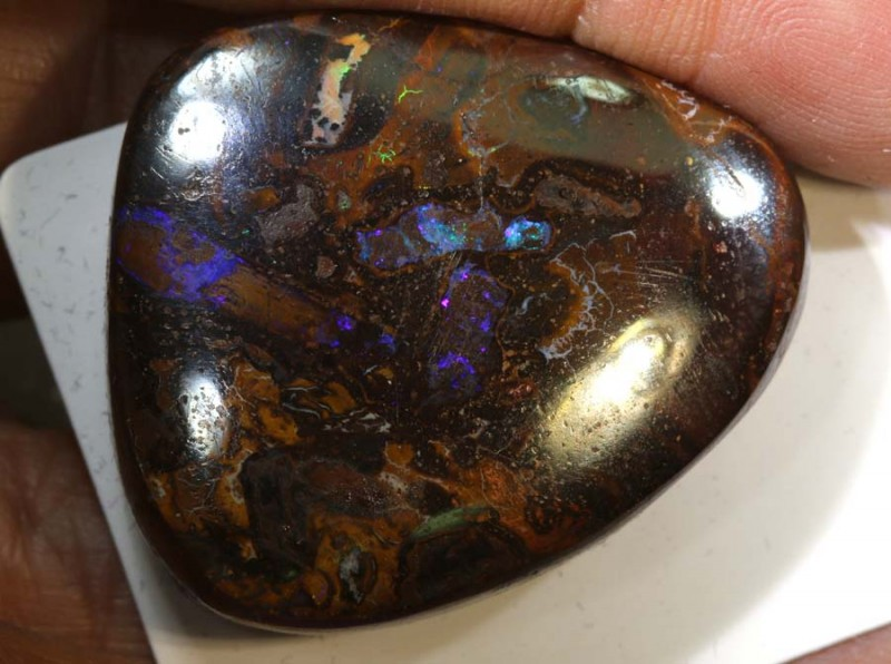 80 CTS YOWAH OPAL  DRILLED PENDANT STONE  ADO-4471