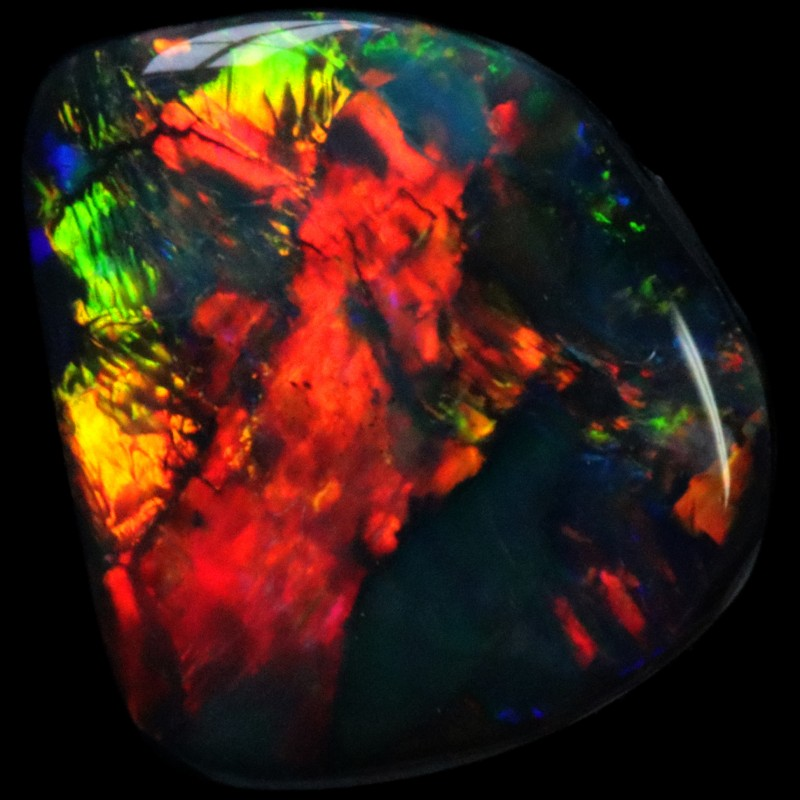 2.80 CTS BLACK OPAL -LIGHTNING RIDGE- [LRO119]SAFE