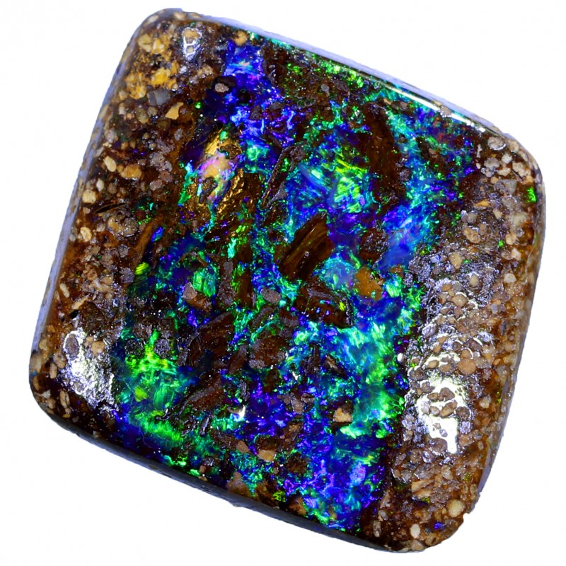 4.2 CTS WOOD FOSSIL BOULDER OPAL STONE BB128