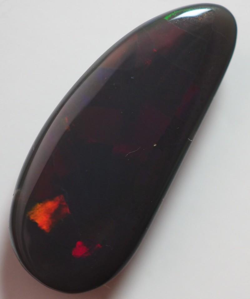 4.70 CT SOLID LIGHTNING RIDGE BLACK OPAL  TO260