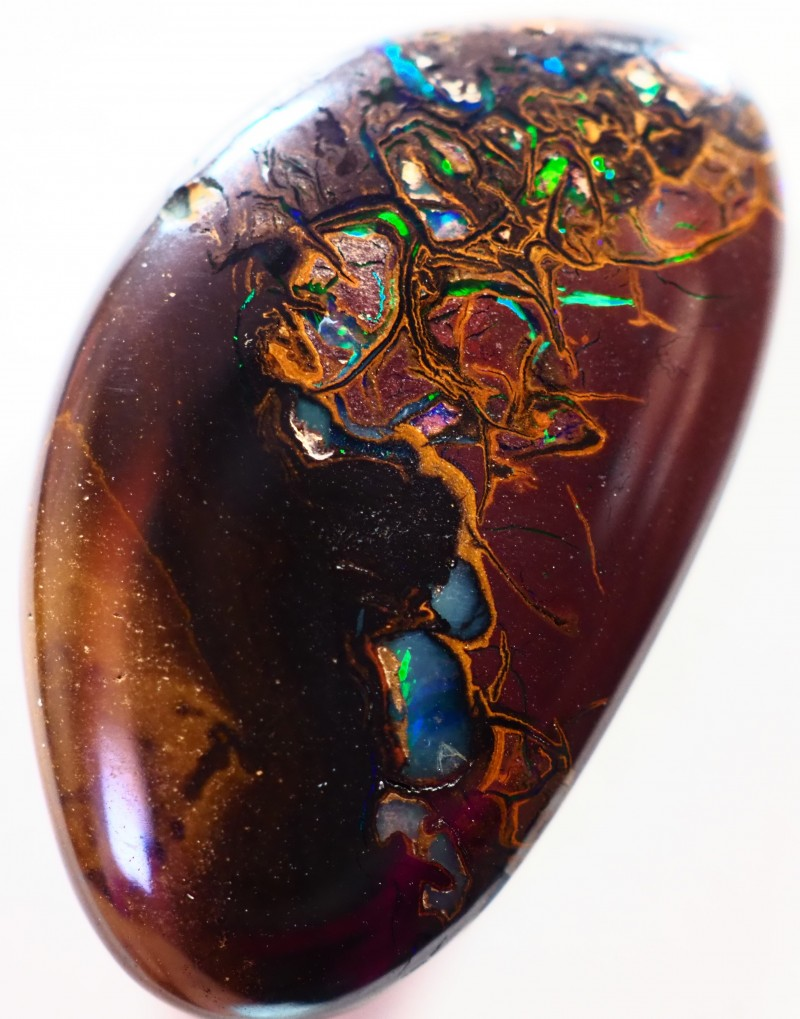 22.15CT VIEW DOUBLE SIDED KOROIT BOULDER OPAL GM41