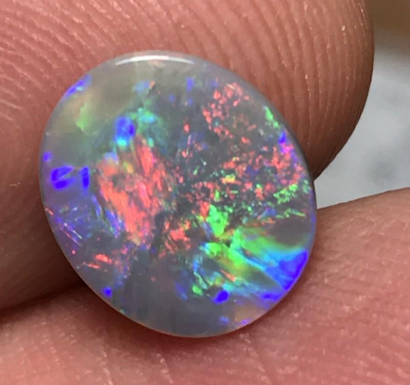 1.50ct Lightning Ridge Gem Crystal Opal LRS104