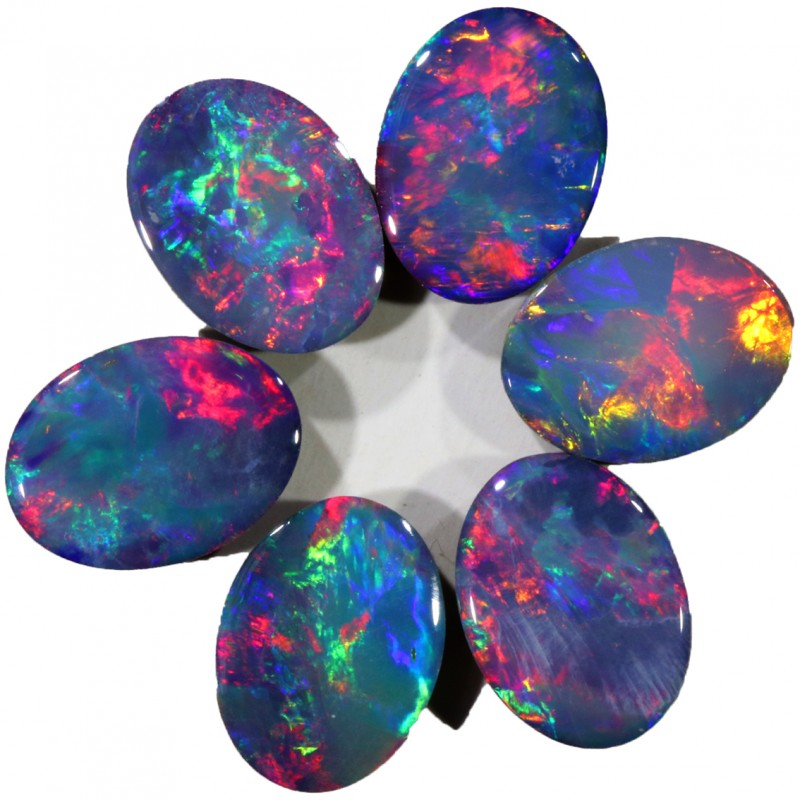 4.01 CTS GEMMY OPAL DOUBLET PARCEL SET [SO9693]SAFE2