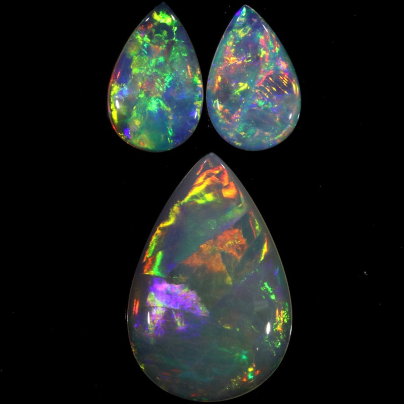 1.87 CTS CRYSTAL OPAL PARCEL -SET- [SO9728]SAFE