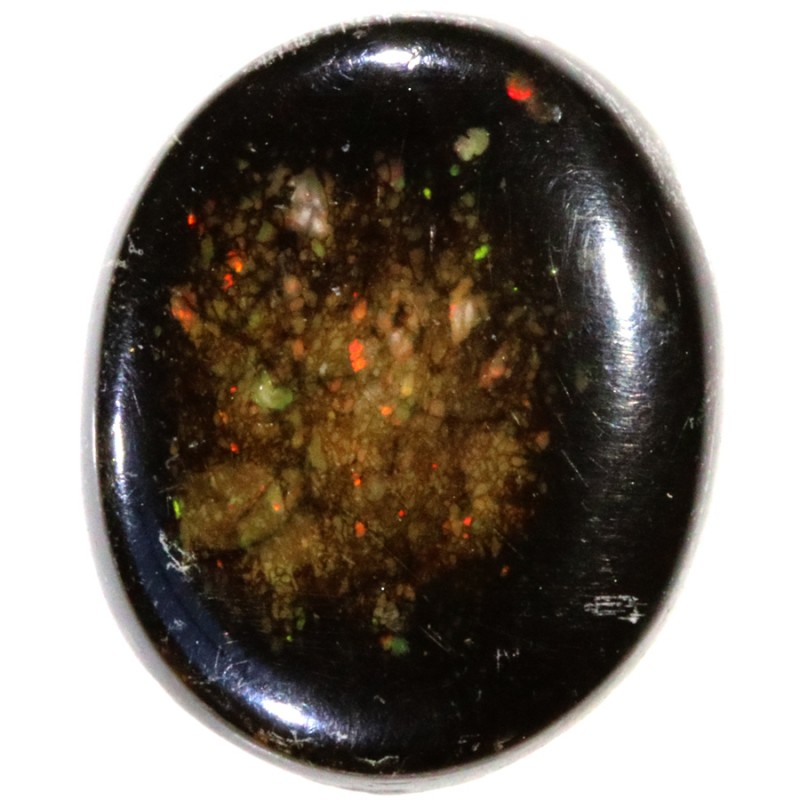 5.70 CTS INDONESIAN  BLACK OPAL STONE [VS7788]