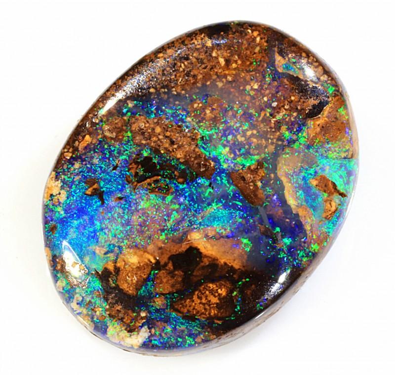 7.9ct 14.5x11mm Koroit Boulder Opal [LOB-1010]