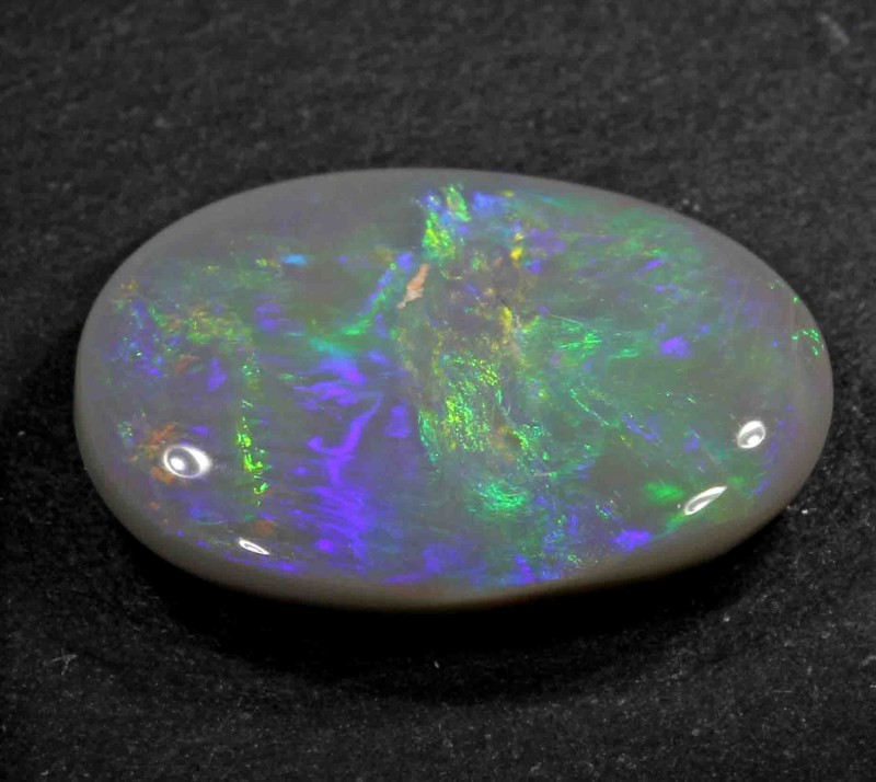 FREE SHIPPING  6.50 CTS  BLACK OPAL FROM LR -