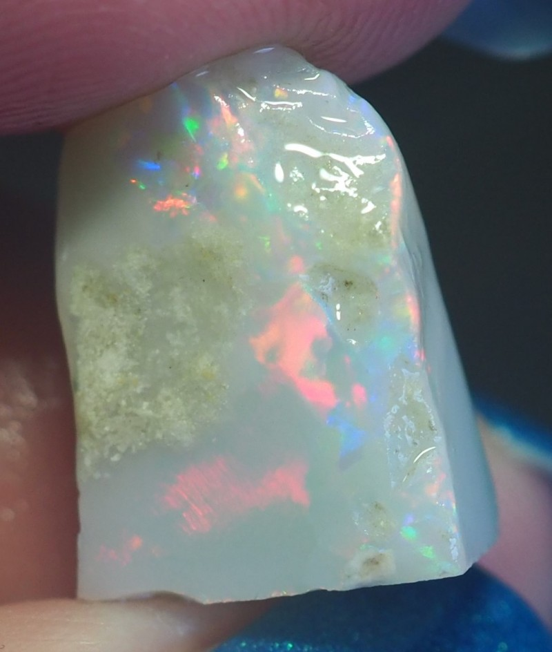 6.35CT VIEW ROUGH FOR CARVING BLACK OPAL GM326