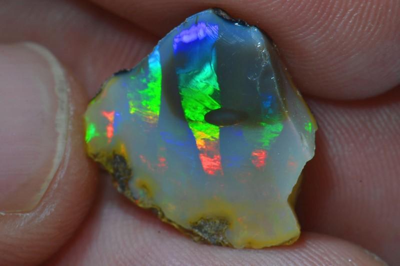 7.79ct No Reserve Hard Ethiopian Wello Opal Specimen