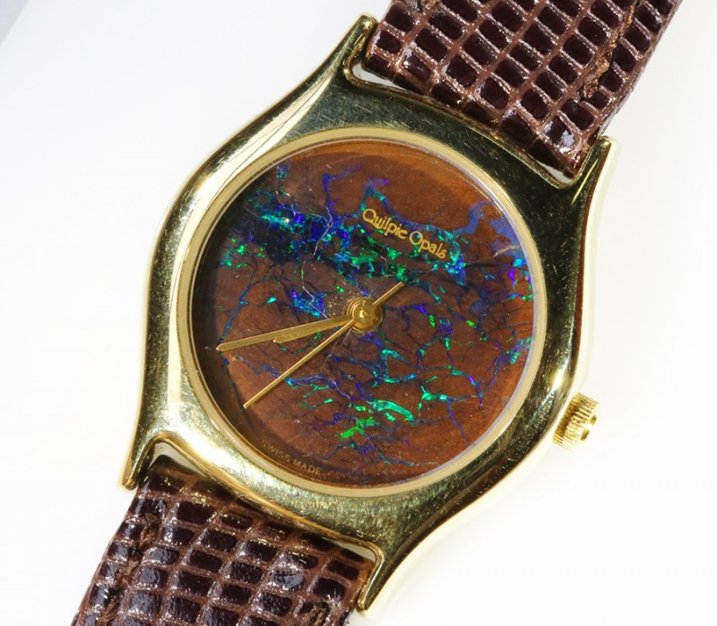 Ladies Exceptionale Opal Watch full face Opal QOM 1681