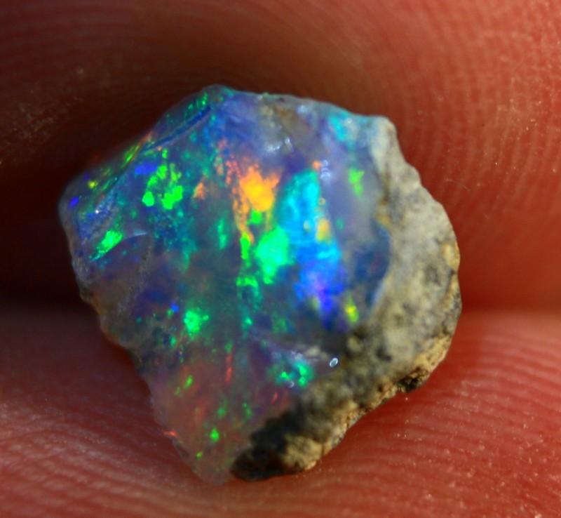 Cts 1.30   RL553     .Rough Ethiopian Wello Opal   ~ Gem Grade -