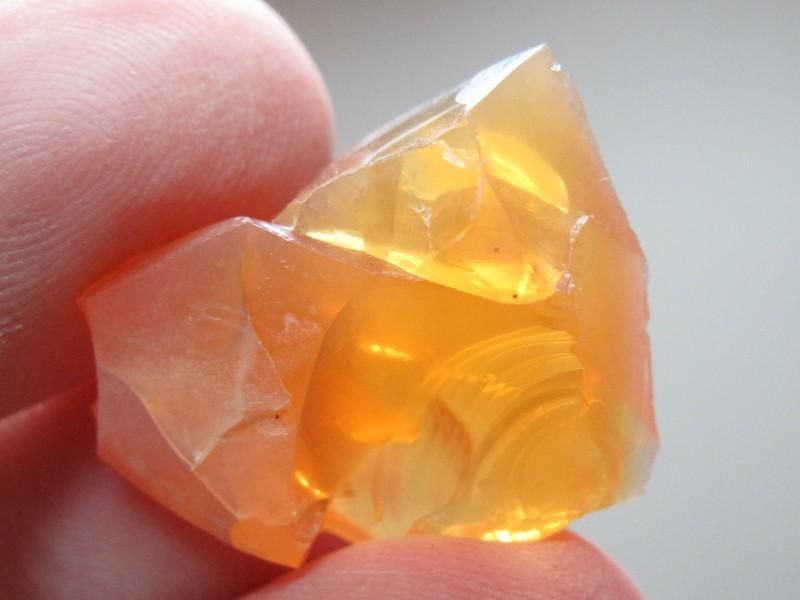 14.80 ct Fire Opal Cantera Specimen from Honduras
