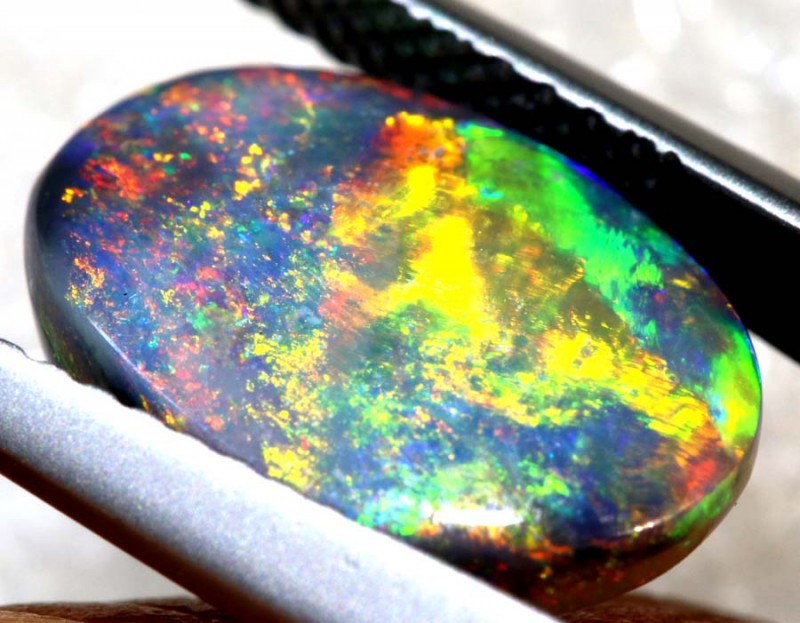 N3 -2.60 CTS BLACK OPAL POLISHED STONEJJ-684149
