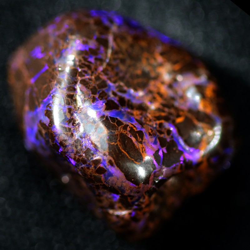 34.75 CTS BOULDER MATRIX  SCULPTURE[SEDA8]