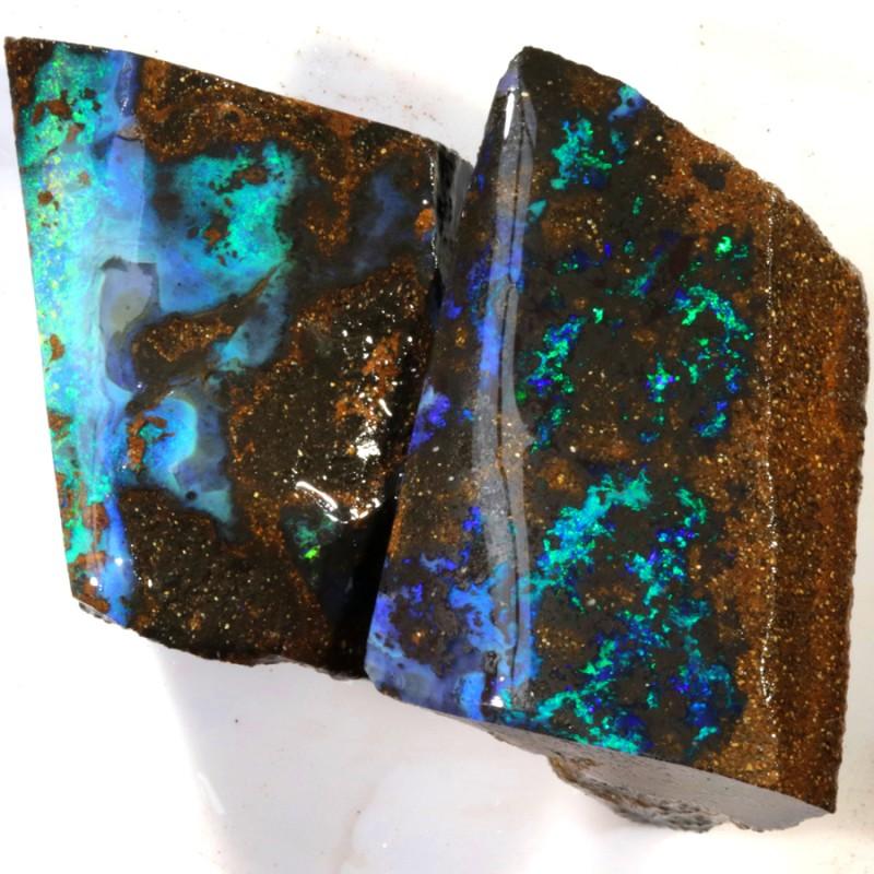 223.90 Cts Opalton Boulder Parcel opal rough PLUS BONUS  MMR2273