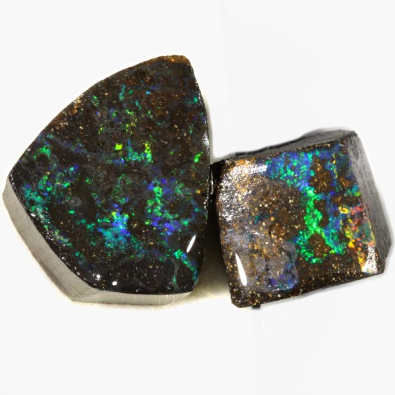 111.55 Cts Opalton Boulder Parcel opal rough PLUS BONUS  MMR2278