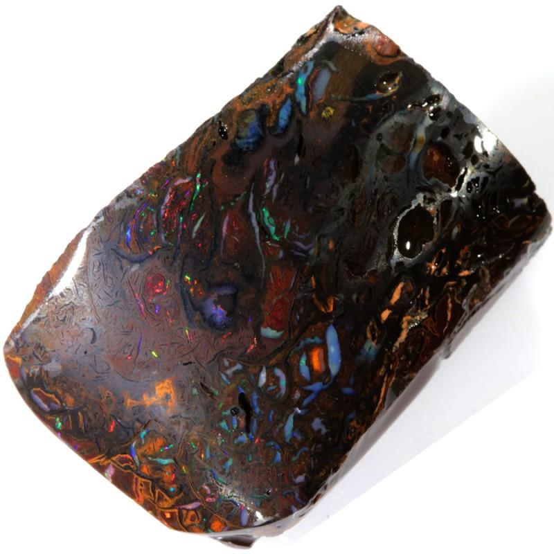 70.00 Cts Red Speckles Koroit  Boulder  opal rub MMR2292
