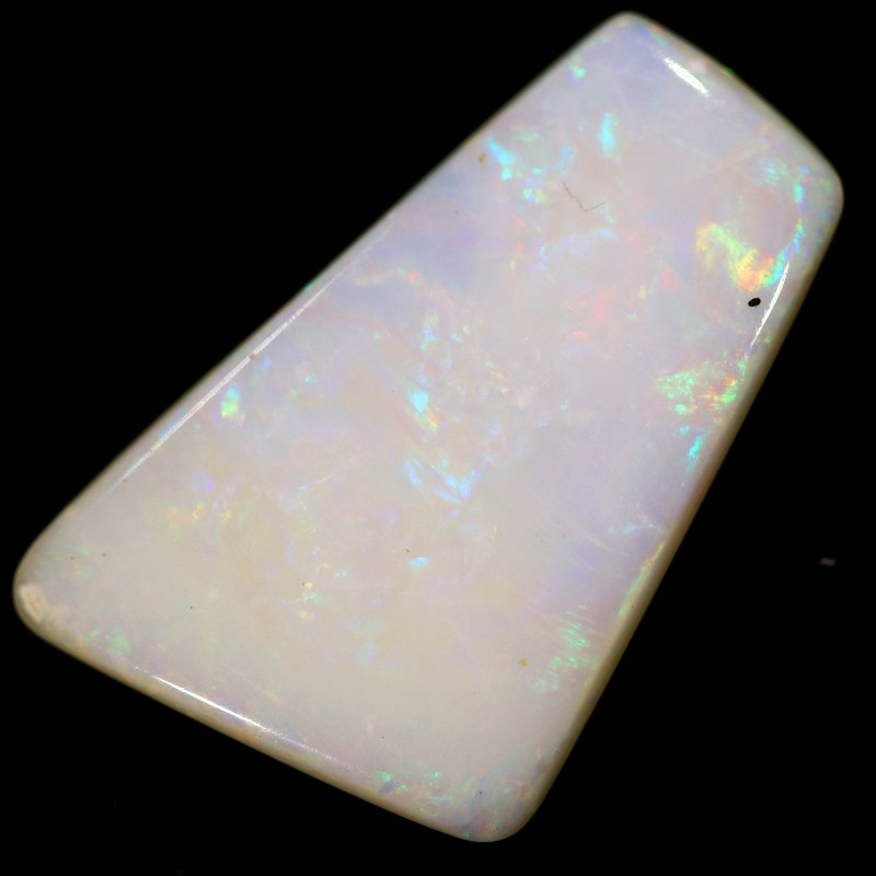 6.4 cts 22x14x3 mm Coober pedy white opal stone CPO502