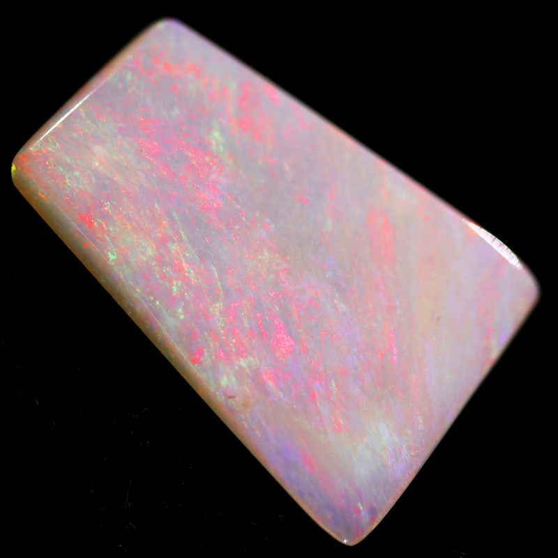 3.4 cts 19x13x2mm Coober pedy white opal stone CPO505