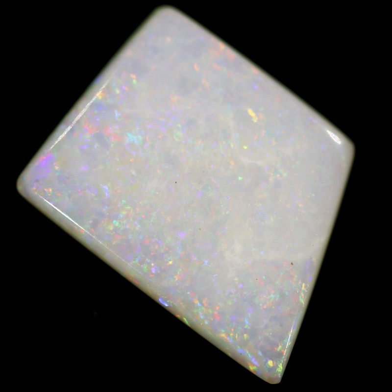 3.9 cts 15x12x3 mm Coober pedy white opal stone CPO520