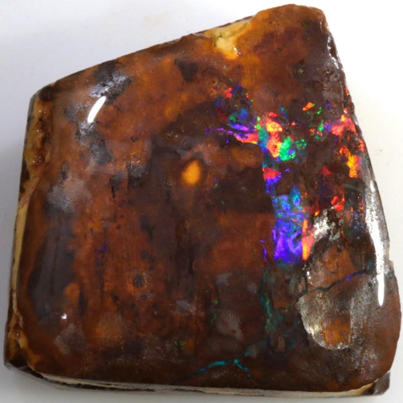 40.00 Cts Red Speckles Yowah  Boulder  opal rub MMR2309