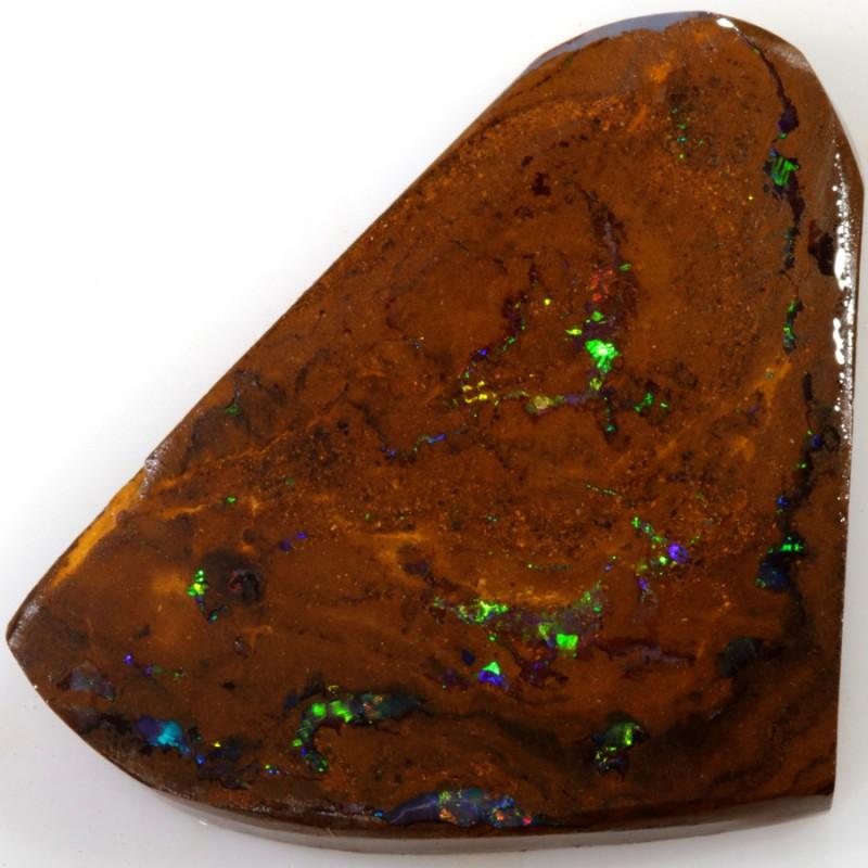 30.00 Cts Red Speckles Yowah  Boulder  opal rub MMR2310