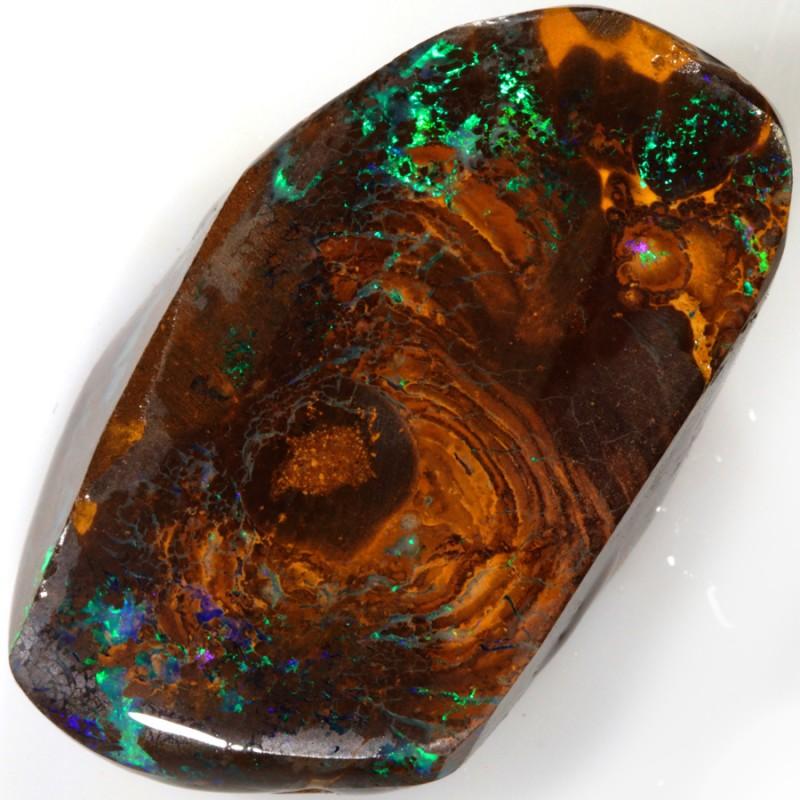 70.00 Cts PLUS BONUS Green veined Koroit Boulder  opal rub MMR2342