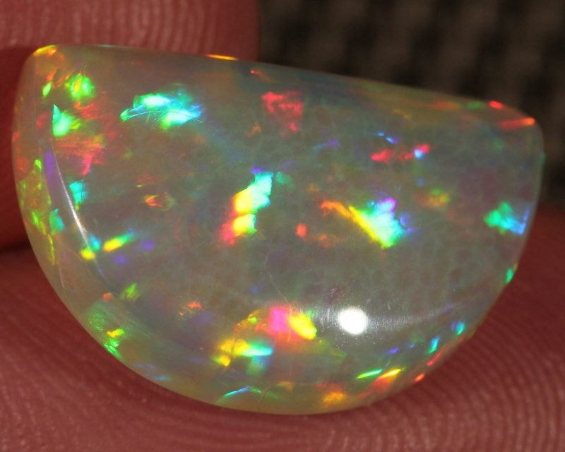 6.98CT~BRILLIANT 5/5 WELO OPAL CAB~HONEYCOMB