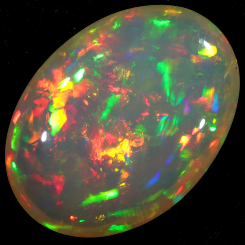 8.85 CTS BRIGHT SATURATED WELO OPAL -ETHIOPIA++++  [VS6082]