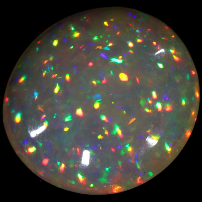 6.61 CTS NEON  BRIGHT SATURATED WELO OPAL-SEE VIDEO!  [VS6080]