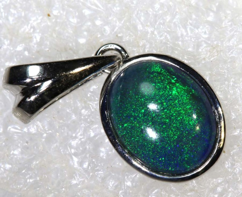 6.7 CTS SILVER OPAL PENDANT OF-2161