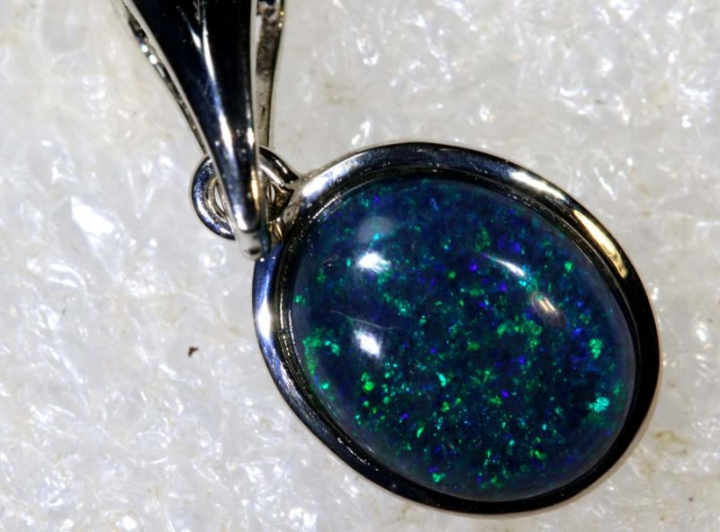 6.7 CTS SILVER OPAL PENDANT OF-2163
