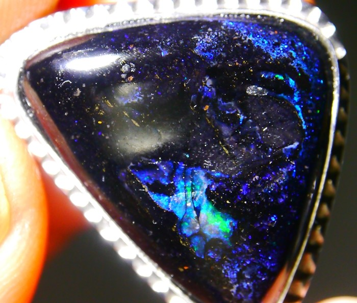28.75 CT Beautiful Pendant Indonesian Wood Fossil Opal Polished