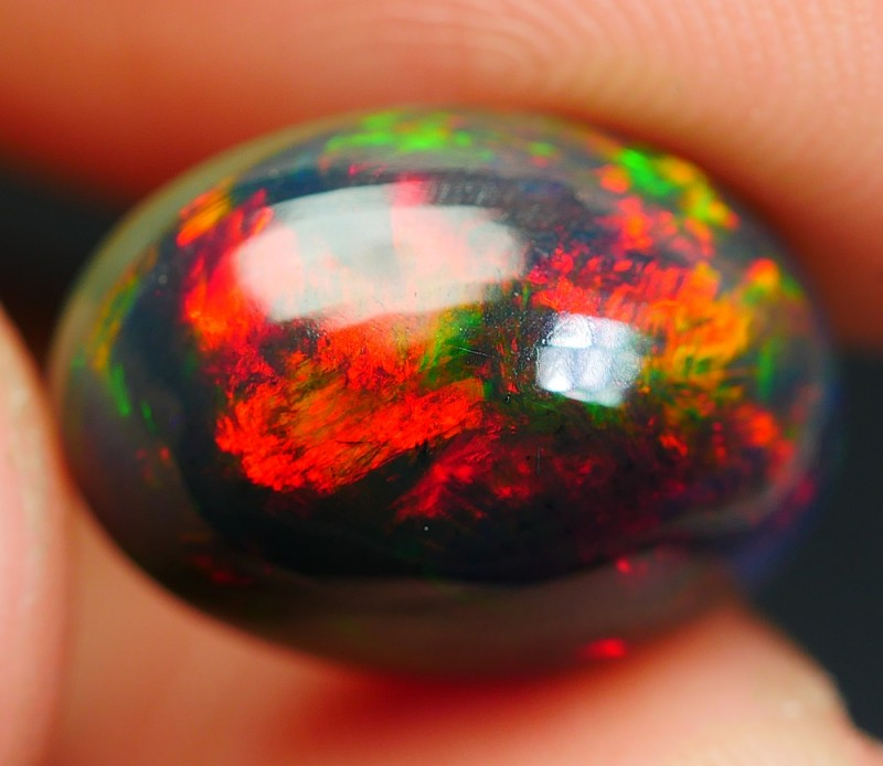 4.10 CRT 3D BROADFLASH PATTERN RED PLAY COLOR BRIGHT SMOKED WELO OPAL