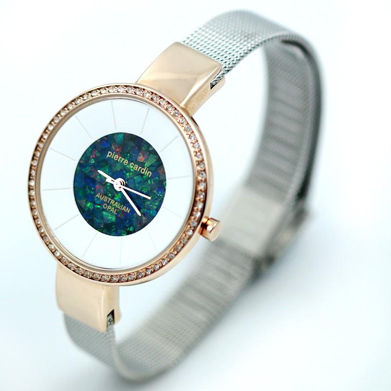 Original Ladies Rose/Silver Watch Mosaic Opal