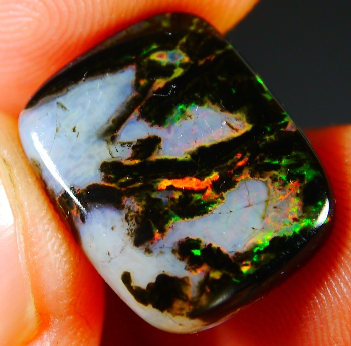 7.60 CT Beautiful Natural Indonesian Wood Fossil Opal Polished