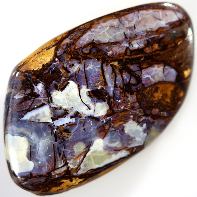 52.40 CTS BOULDER WOOD FOSSIL REPLACEMENT STONE  [SEDA185]