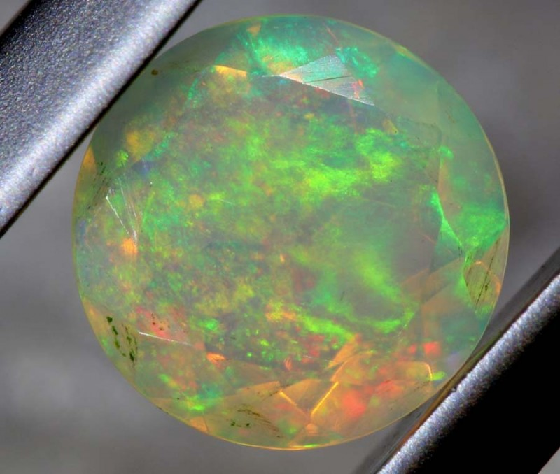 0.55 CTS ETHIOPIAN WELO FACETED OPAL STONE FOB-1248