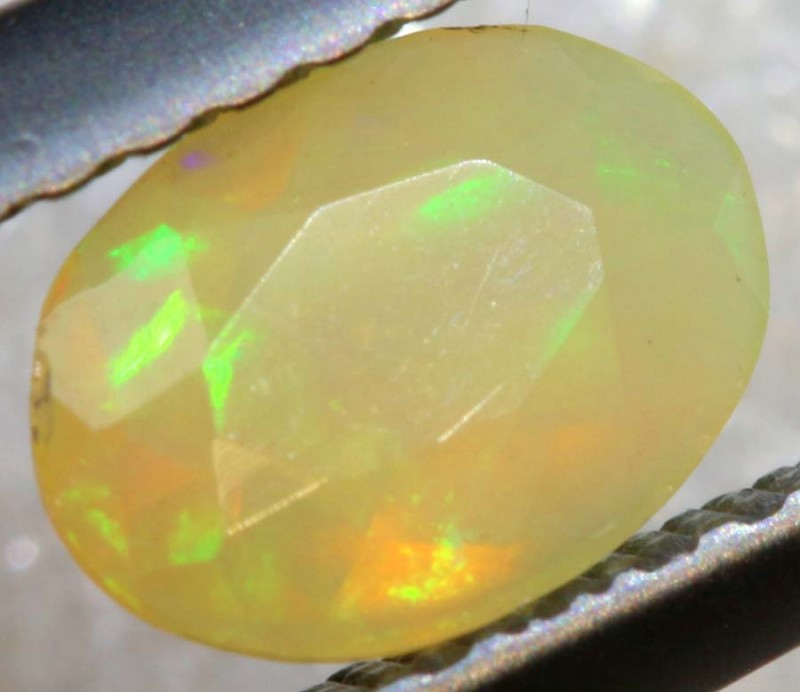 0.30 CTS ETHIOPIAN WELO FACETED OPAL STONE FOB-1253