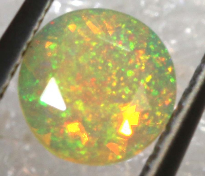 0.20 CTS ETHIOPIAN WELO FACETED OPAL STONE FOB-1263